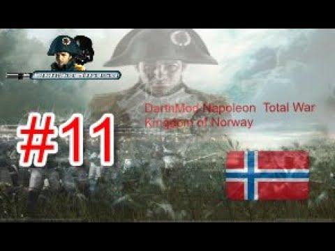 🔴  Darthmod 2.65 ⚔ Napoleon Total War Kingdom of Norway #11⚔