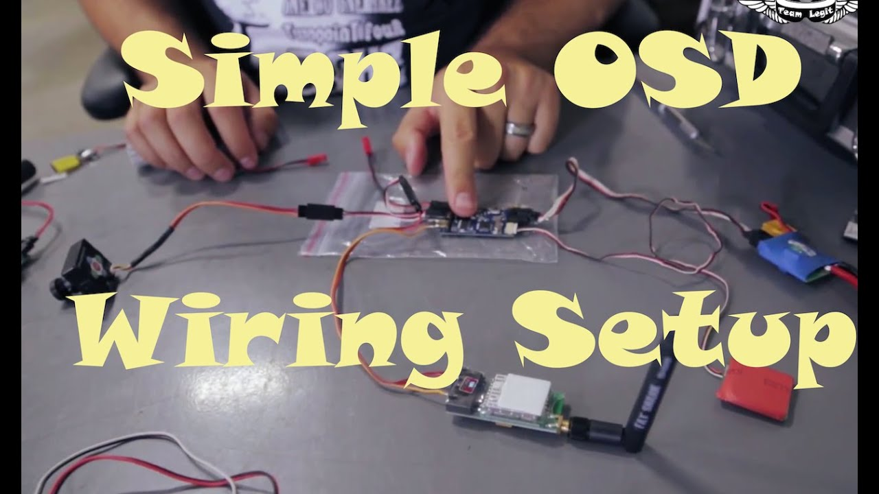 FPV Series Episode 6: Simple OSD Wiring on
