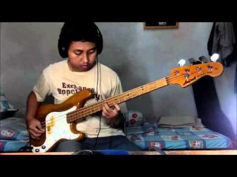 Aria Pro II Primary Bass PB-600D Demo (precision bass copy)