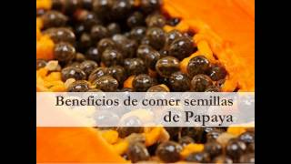 Beneficios de comer semillas de Papaya