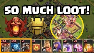 TH9 Farming in Titan/Champs League: IT WORKS! SO MUCH LOOT! | Clash of Clans