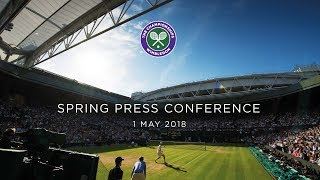 Wimbledon Spring Press Conference 2018