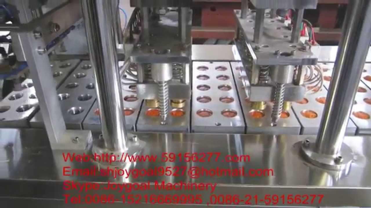 Joygoal Machinery Nespresso Filling Sealing Machine