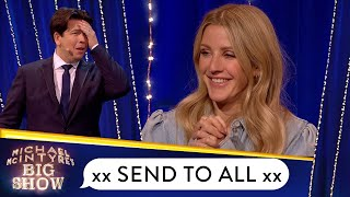 Ellie Goulding's Send To All Is So Emotional! | Michael McIntyre's Big Show