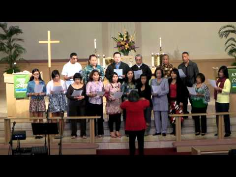 HKBP CAL-USA choir sing from Buku Ende no 213 - Dung Sonang Rohangku