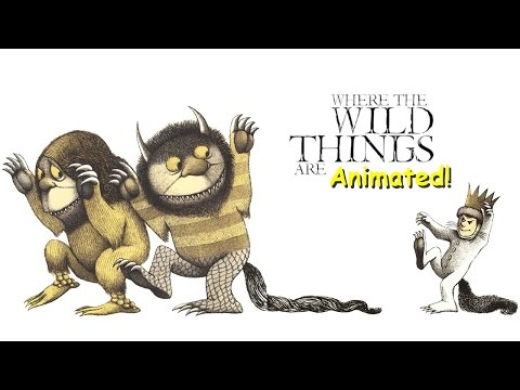 Where The Wild Things Are - Animated Children's Book