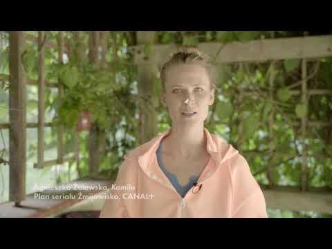 Agnieszka Żulewska opowiada o swojej roli w serialu Żmijowisko | CANAL+