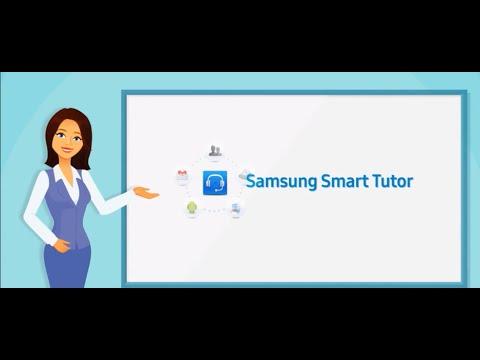 Samsung Smart Tutor Application - YouTube