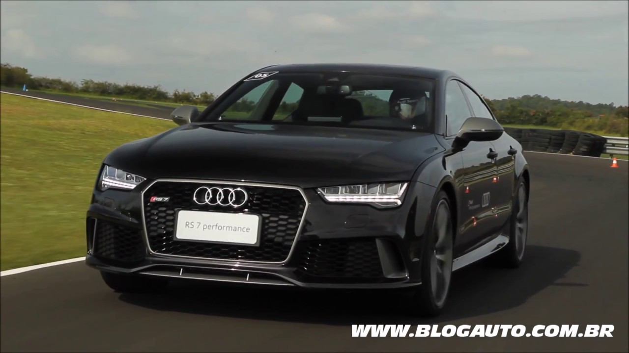 Todos Os ângulos Do Audi Rs7 Performance 2018 Blogauto Youtube
