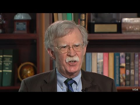VOA Interview: Former US National Security Advisor John Bolton