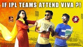If IPL Teams Attend VIVA ? ! | Idhu Adhu Illa #8 | Black Sheep