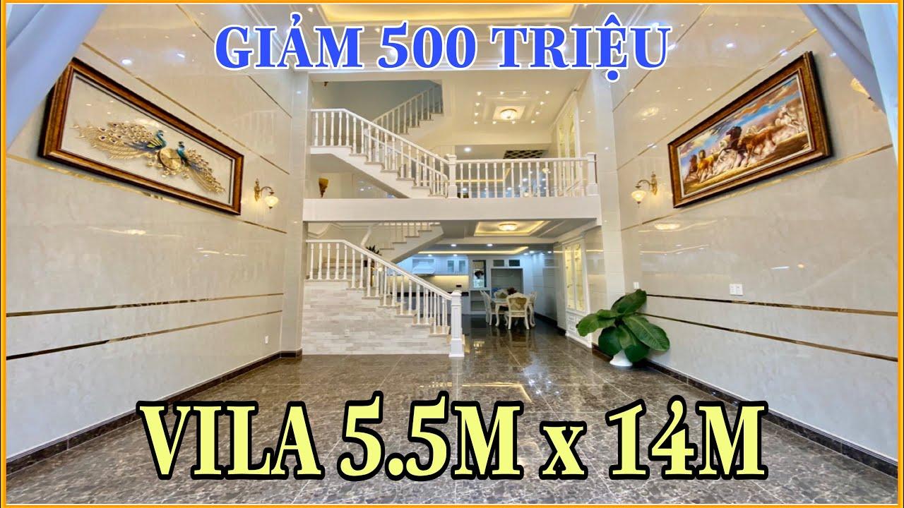 Bán nhà Gò Vấp | 291] VILA TRẮNG Quá đẹp giảm ngay 500 triệu thiết kế tuyệt vời tại phường 9 Gò Vấp