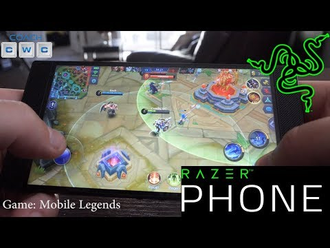 Razer Phone 8 New Games Played! HIT, Mobile Legends, Vainglory, & More!