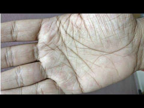 Very lucky male hand. बहुत भाग्यशालीtry reading in hindi.