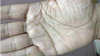 Very lucky male hand. बहुत भाग्यशाली.palmistry reading in hindi.