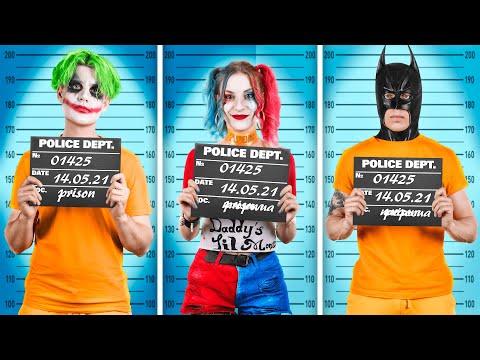 Супергерои в тюрьме!