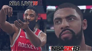 THE PROS & CONS OF GETTING NBA LIVE 18 VS. NBA 2K18!