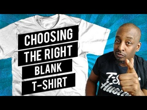 Order blank t-shirts online