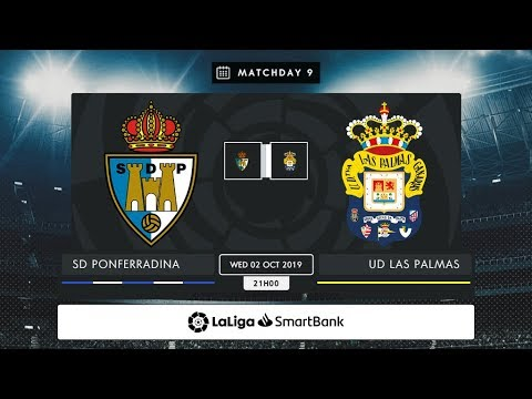 SD Ponferradina - UD Las Palmas MD9 X2100