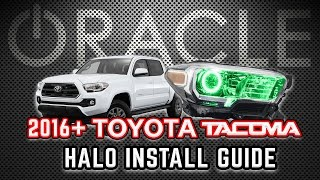 ORACLE Lighting Halo Install Guide - 2016-18 Toyota Tacoma