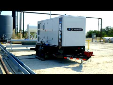 Hipower Natural Gas Generator at Eagle Ford Shale II