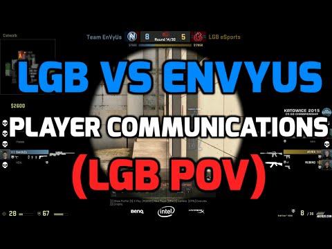 Katowice 2015 - LGB vs EnVyUs with players communications (LGB POV Norwegian)