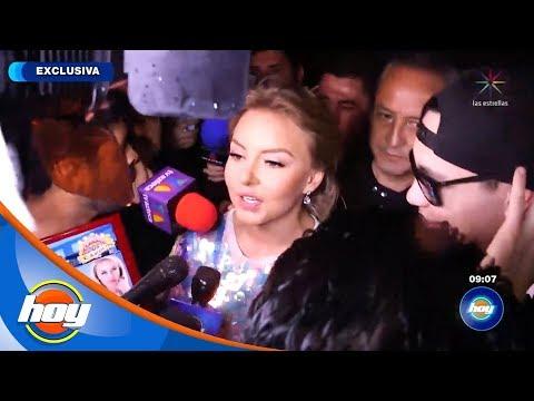 Angelique Boyer y Raymix fueron atacados con latas de cerveza durante el carnaval de Carolina | Hoy