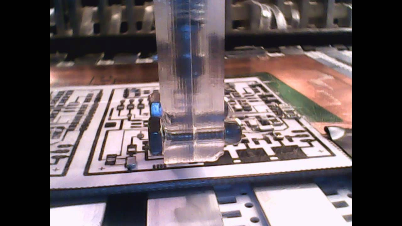 Homemade CNC Pick and Place Machine X2 CNC #11: First Test! - YouTube