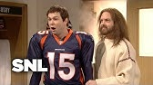 Jesus Visits Tim Tebow and The Denver Broncos - SNL