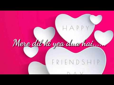 Friendship day special+Best Friend+Love+Yara teri yaari+Lyrics+Whatsapp status hindi