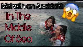 FELL IN THE MIDDLE OF SEA 😱 | Chinki Minki