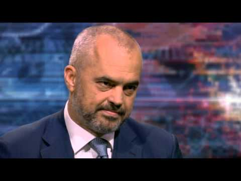 Edi Rama Prime Minister Designate, Albania on HARDtalk