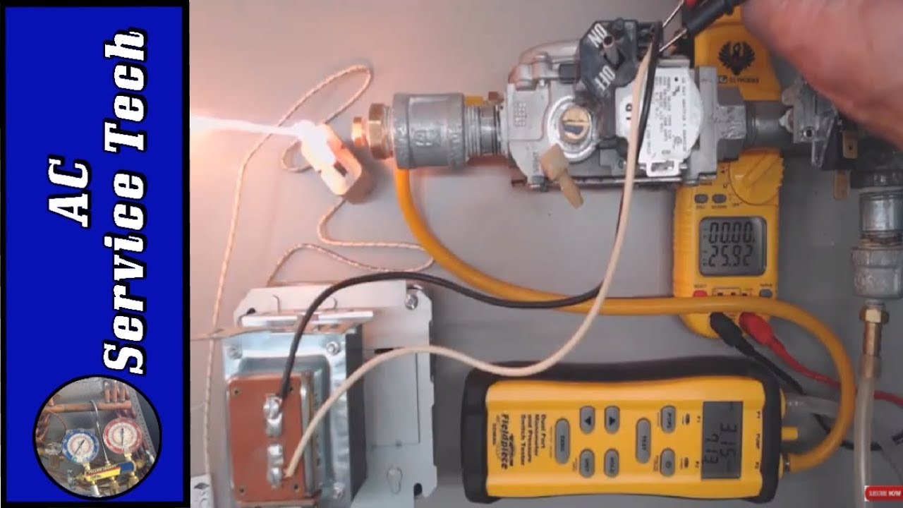 gas furnace won t ignite direct ignition gas valve troubleshooting  [ 1280 x 720 Pixel ]
