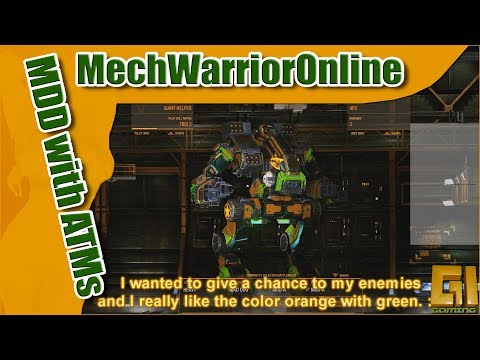 MWO - Two OK matches with the Maddog Utilizing ATMs and SRMs