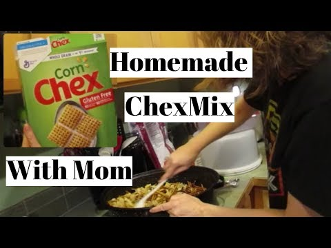 Homemade Chex Mix 12.9.18 day1992