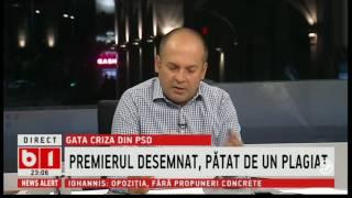 Radu Banciu despre nominalizarea premierului Mihai Tudose