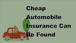 Cheap Automobile Insurance Can Be Found  2017 Car Insurance Facts