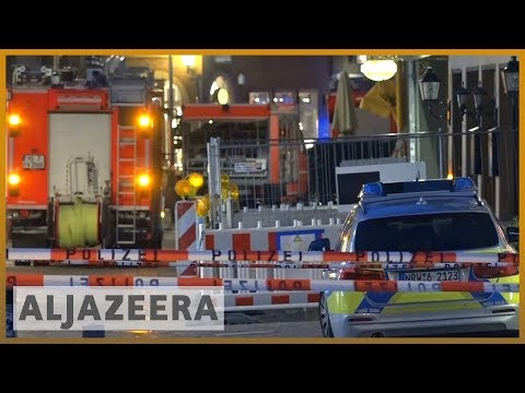 🇩🇪 Germany: Two killed as van drives into crowd in Muenster | Al Jazeera English