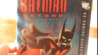 Batman Beyond Season 1 DVD Unboxing