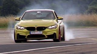 570HP BMW M4 F82 w/ Akrapovic Exhaust - Drifts, Revs & Drag Racing! thumbnail