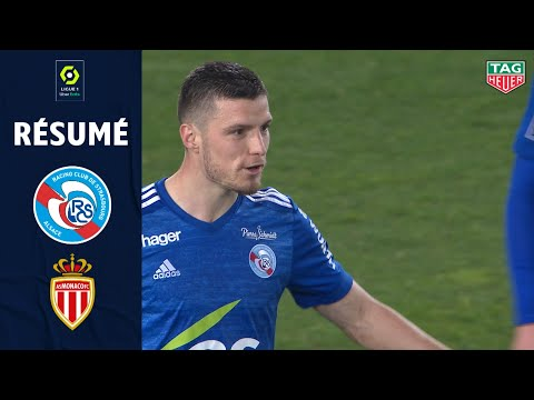 Strasbourg Monaco Goals And Highlights