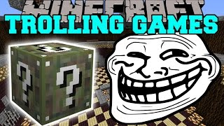 Minecraft: TWILIGHT FOREST TROLLING GAMES - Lucky Block Mod - Modded Mini-Game
