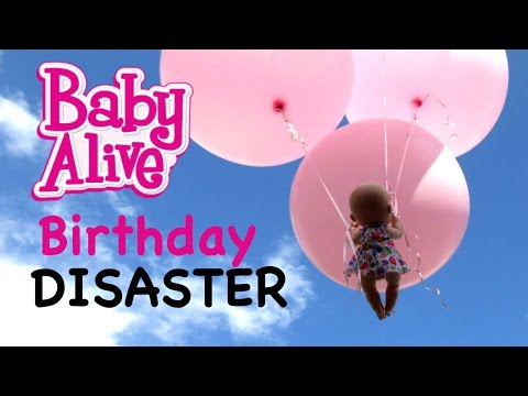 BABY ALIVE Emma Jane's Birthday Party Almost Ends In Disaster!