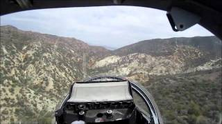 Jim's L39 Flight throught the Canyon