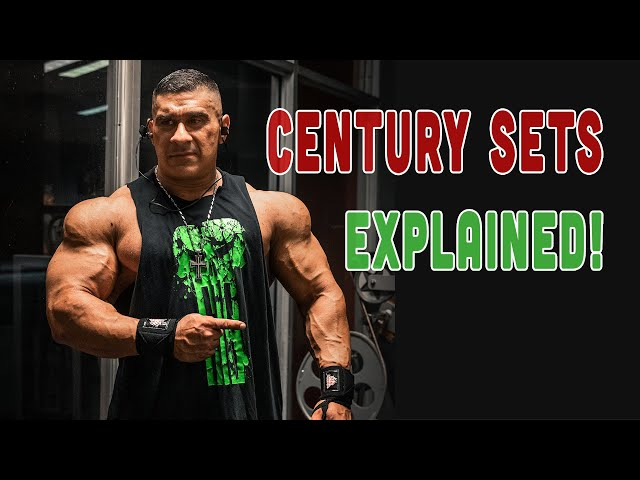 BEST INTENSIFYING MUSCLE BUILDING TECHNIQUES? CENTURY SETS?