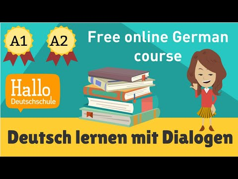 Best Free online German course  / Deutschkurs A1, A2