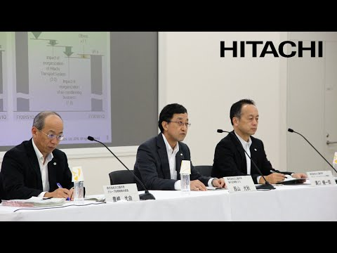 Meeting for institutional investors and financial analysts on FY2016-1Q earnings - Hitachi