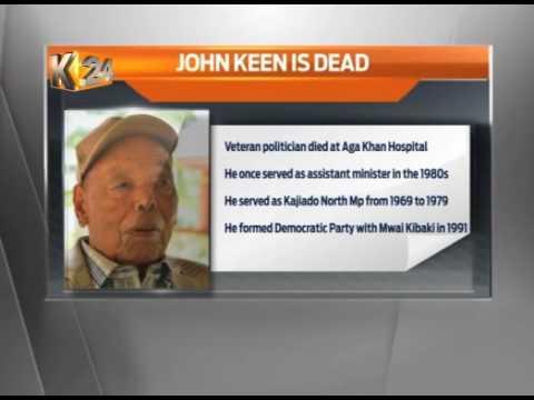Veteran politician, passes on while undergoing treatment at Aga Khan hospital