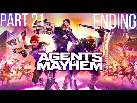 Agents Of Mayhem Gameplay Walkthrough Part 21 Fall Of Babylon Descent Into Madness Ending