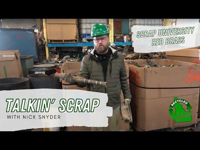 Scrap U:  Ebony / Red Brass